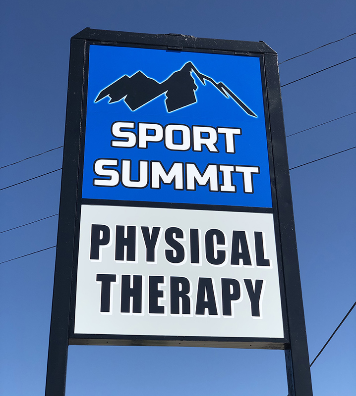 Sport Summit Physical Therapy Clare - Road Sign
